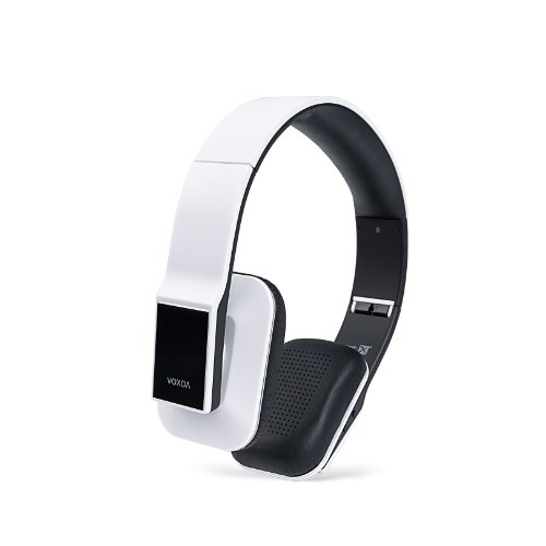 Voxoa® Hd Wireless Stereo Headphones (White) Bluetooth 4.0, Aptx, Aac, Nfc, Hd Audio