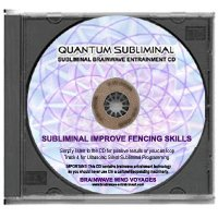 BMV Quantum Subliminal CD Improve Fencing Skills: Fencer Mind Training Aid (Ultrasonic Sports Performance Enhancement Series)