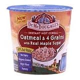 Oatmeal & 4-Grains with Real Maple Sugar, All Natural, Heart Healthy ~ Dr. McDougall's Right...