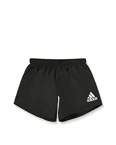 adidas Short s RUGBY Negro / Blanco