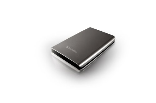 Verbatim 53022 750GB Store n Go USB 3.0 2.5 Inch External Hard Drive Silver