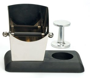 Espresso Knock Box & Tamper Ready Base Stainless Steel front-515864
