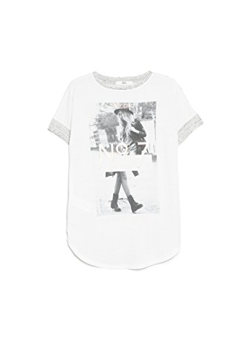 Mango Women's Print Flecked T-Shirt