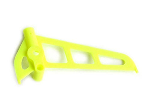 Esky Lime Yellow Vertical Fin Set - HB Fixed Pitch V2 - 1