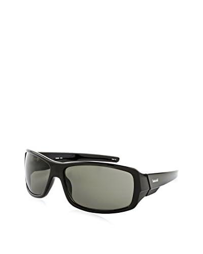 Timberland Men's Fashion Sunglasses, Black/Dark Green