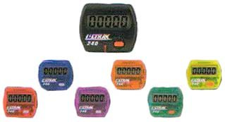 Cheap Ultrak Electronic Pedometers (Set of 6 Rainbow Colors) (240-SET)