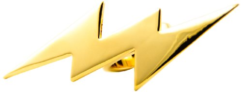 HAN CHOLO Gold Lightening Bolt Ring, Size 6
