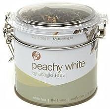 Adagio Teas Loose With Naturally Sweet White Tin Tea Peachy White 2 oz 1 Pack
