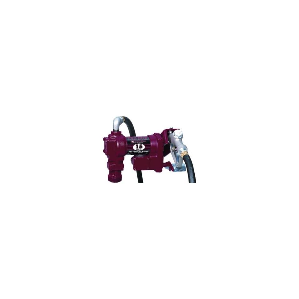 Fill Rite Heavy Duty 115VAC Fuel Transfer Pump, 15 GPM Automotive