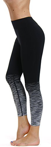 Prolific Health Fitness Power Flex Yoga Pants Leggings - All Colors - XS - XL (Medium , Seamless Charcoal)