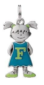 Initial Kid's Tag - Girl - F