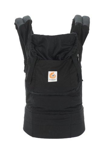 Ergo Baby Organic Baby Carrier (Organic Black/ Black) front-806846