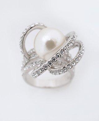 Traditional Overlap Shape Fashion Ring