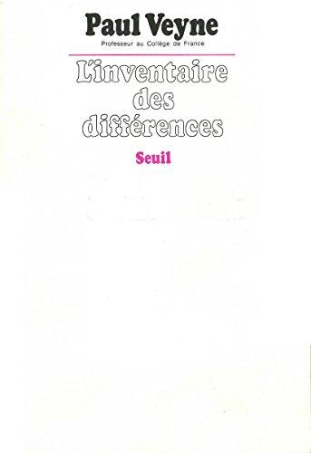 Inventaire des différences