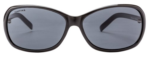 Fastrack Oval Sunglasses (Black Grey) (P184BK2F)