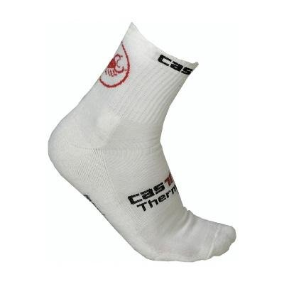 Image of Castelli 2011/12 Logo Winter Cycling Sock - White - R7574-001 (B001JPR31O)