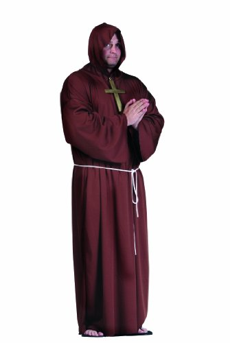 Super Deluxe Monk Costume Plus Size