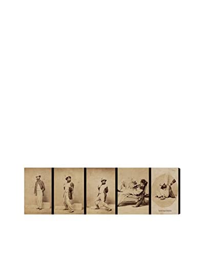 "The Art Cabinet ""Five Stages of Inebriation"" Canvas Print"