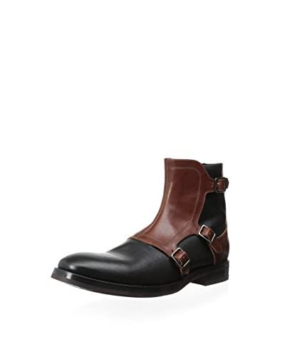 Alexander McQueen Men's Boot with Overlay