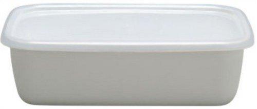 野田琺瑯 レクタングル深型L ホワイトシリーズ WRF-L