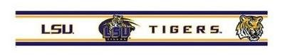 LSU 5.5 Inch (Height) Wallpaper Border at Amazon.com