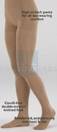 Mediven Comfort 20-30mmHg CT Pantyhose with Waistband : Natural Size VI by Mediven kaufen