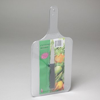 Plastic Cutting Board With Bonus Knife (72 Pieces)