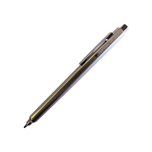 Ohto Double Knock Mechanical Pencil Horizon Silver