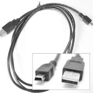 AC01 Charge Cable for PS3 Controller, Black (Wireless Usb Dj Controller compare prices)