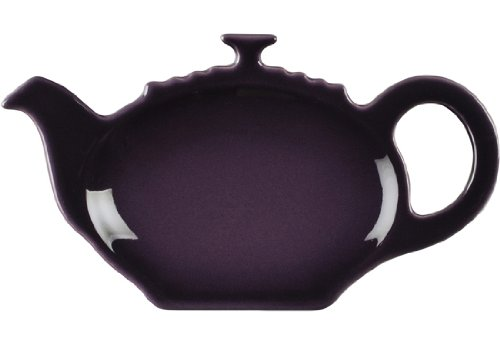 Lowest Prices! Le Creuset Stoneware Tea Bag Holder, Cassis
