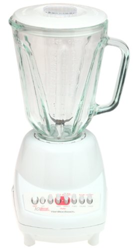 Hamilton Beach 50200 10-Speed BlendMaster Blender, White