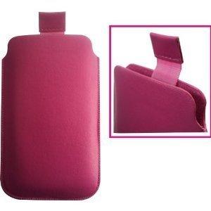 24/7 Kaufhaus- Rosa Pull-Tab Tasche Hülle für Nokia Lumia 610