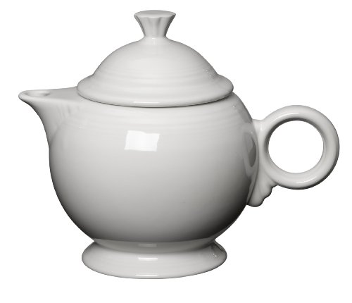 Fiesta 36-Ounce Covered Teapot, White
