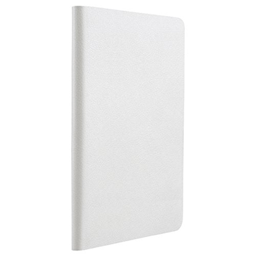 iBUFFALO iPad Air 2 (2014年) レザーケース 回転スタンド付 液晶保護フィルム付 ホワイト BSIPD14LRWH 【縦置き横置き自由自在薄型回転スタンド付】
