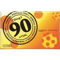 TDK カセットテープ 90分 ノーマルポジション CD1-90U
