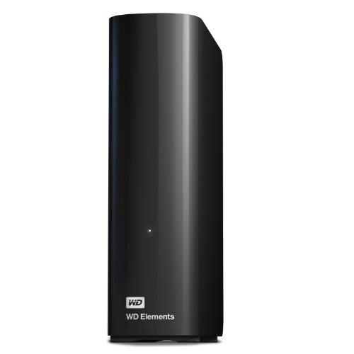 WD 外付けハードディスク WD Elements Desktop 2TB TV録画対応 アクオス レグザ ブラビア ビエラ Xbox One対応 3年保証 USB3.0 WDBWLG0020HBK-JESN
