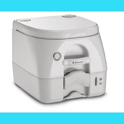 Dometic 301097202 Portable Toilet 2.6 Gallon, Tan (Dometic Plastic Toilet Seat compare prices)