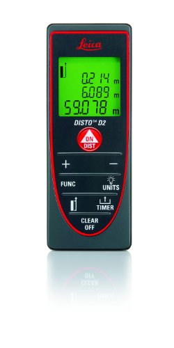 Leica DISTO D2 Laser Distance Measurer