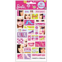 Barbie All Doll'd Up Stickers Package of 2