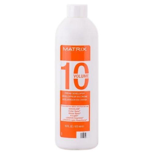 Matrix SoColor Cream Developer - 10 Volme - 16 oz (Matrix Cream Developer 20 compare prices)