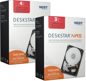 HGST IDK Deskstar 3.5-Inch High-Performance Hard Drive for Desktop NAS Systems