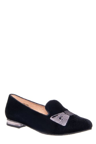 All Mine Low Heel Smoking Slipper Loafer