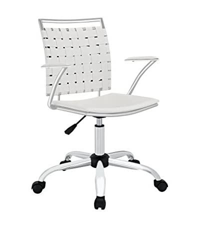 Modway Fuse Office Chair, White