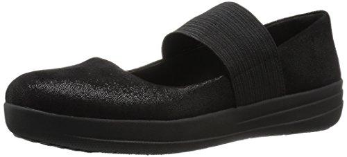 Fitflop F-sporty Mary Jane Shoes Nero Barlume UK4 Barlume Nero