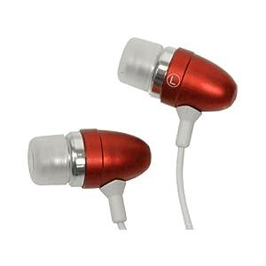G&BL VTHPMRD Écouteurs intra-auriculaires professionnels Jack 3,5 mm Rouge (Import Royaume Uni)