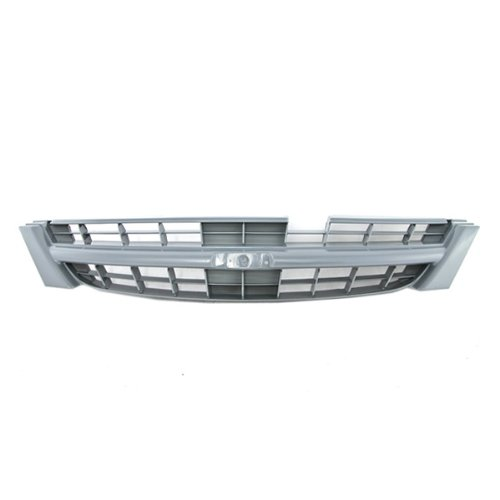 CarPartsDepot, Front Sedan Grille Grill Raw Gray Non-Primed Plastic Assembly Paintable, 400-361425 NI1200179 F23100L700 (Nissan Maxima 1998 Front Emblem compare prices)