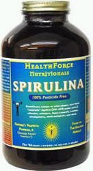 Spirulina Manna Powder 16oz, Healthforce Nutritionals