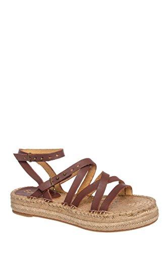 Erin Low Platform Flat Sandal