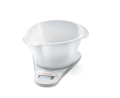 Soehnle Genio Balance culinaire numérique, blanc