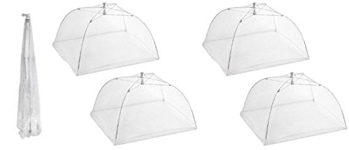 Pop Up Mesh Screen Food Cover (4 Pack) by KOVOT (Food Nets compare prices)